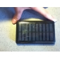 Solar Power Charger + Flashlight for iPhone 4/3G/3GS Cellphones (Black)