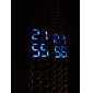 Lava Style Blue LED Digital Couple Watch(Silver)