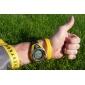 Мужской Спортивные часы Цифровой LCD Календарь Секундомер Защита от влаги тревога силиконовый Группа Черный