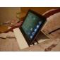 élégant étui en cuir PU motif de pissenlit avec support pour iPad 2/3/4 (couleurs assorties)