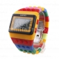 Women's Watch Sports Strap Watch Digital Rainbow Block Brick Style Cool Watches Unique Watches Fashion Watch