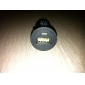 5V-1A USB laturi/adapteri auton tupakansytyttimeen - musta (DC 12V)