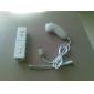 Manette et Nunchuk pour Wii (Blanc)