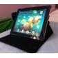 Чехол из искусственной шершавой кожи с функцией автосна, пробуждения и подставкой для для New iPad и iPad 2