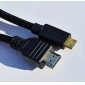 V1.4 HDMI Cable for Smart LED HDTV, APPLE TV, PS3, XBOX360, Blu-ray (1.5M, Black)