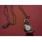 antigas rosas de quartzo pequeno bolso cadeia colar relógio