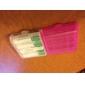 AAA / AA boîte en plastique de stockage le cas titulaire (blanc + violet + bleu + vert)