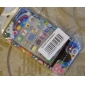 Protective Smooth Polycarbonate Front and Back Case for iPhone 4 and iPhone 4S (Colorful Flowers)