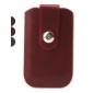 protection Flip Case en cuir PU avec boucle pour iPhone 4, 4s, 3g, 3gs