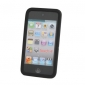 Protective Silicone Back Case for iPod Touch 4 (Black)