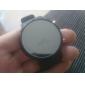 Masculino Relógio de Pulso Digital LED Silicone Banda Preta marca-
