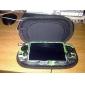camuflar caso estilo de silicone para ps vita (verde)