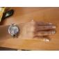 Femme Montre Tendance Bracelet de Montre Quartz Bande Fleur Bracelet Argent Violet Rouge Bleu Rose