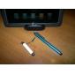 vita kapacitiv pekskärm penna med 3,5 mm hörlursuttag kontakt för iPad, iPhone och mer