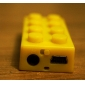 TF Card Reader MP3 Player (Assorted Colors, LEGO Style)