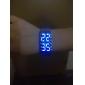 Masculino Assista Digital Relógio de Moda LED / Calendário Aço Inoxidável Banda Relógio de Pulso