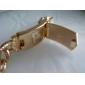 mode motif de dragon alliage d'or montre de bracelet de quartz des femmes