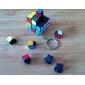 Nøkkelring med mini Rubiks kube