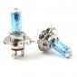 Ampoules Halogènes Blanches pour Phares H4 5000K 60/55W (DC12V/Paire)