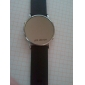 Thin Modern Women Men Unisex Fashion Style LED Wrist Watch - Black