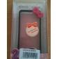 Protection Rigide Antichoc, En Silicone, pour iPhone 4/4S - Nœud, Couleurs Assorties