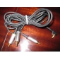 AV Audio Video kompositt tv-ut-kabel for psp 2000/3000 slank