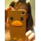 Unique Stay Bird Pattern Silicone Case for iPhone 4 and 4S (Assorted Colors)