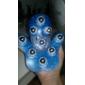gant de massage avec 9 360 degrés-rouleaux, 3 couleurs au hasard