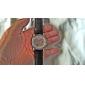 남성 손목 시계 기계식 시계 오토메틱 셀프-윈딩 중공 판화 PU 밴드 블랙