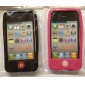 Protective Silicone Case for iPhone 4 (Black)