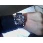 Herren Beobachten Quartz Modeuhr Silikon Band Armbanduhr