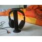 mh2001 ouvido de 3,5 mm sobre a orelha 5 em 1 sem fios com microfone de rádio FM para mp3 / pc / tv