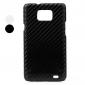 Skyddande Plastskal med Kolfiber för Samsung Galaxy i9100 (Blandade färger)
