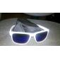 Gafas Unisex Con Marco Blanco PC y Lentes UV 400 -Con Funda
