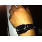 par av legert analoge kvarts håndleddet klokker (svart)
