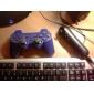 Беспроводной джойстик для PS3 (синий)