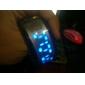 Pareja de Relojes de Muñeca LED Futuristas (Negro, Blanco, 1 Par)