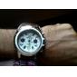 Мужской Нарядные часы Кварцевый Кожа Группа Черный Коричневый