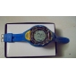 Silicone Band EL LED Wrist Watch(Blue)