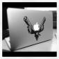 Autocollant Style Pistolets Personne Ne Bouge pour MacBook Air Pro 11