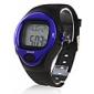 kaloriteller puls pulsklokke stoppe automatisk klokke - blå