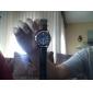 hommes style décontracté pu analogique montre-bracelet à quartz (couleurs assorties)