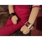 Элегантные женские светодиодные часы с красным светодиодом
