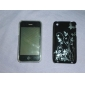 Cartoon Transparent Edge Protective PVC Case Cover for iPhone 3G/3GS (Black)