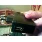 EU Plug USB AC DC Power Supply Wall Charger Adapter MP3 MP4 DV Charger (Black)