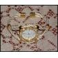 Mujer Reloj de Moda Cuarzo Aleación Banda Destello / Brazalete Dorado Marca-