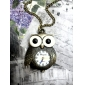 Stainless Steel Pocket Watch with Chain