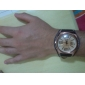 Masculino Relógio Elegante Quartz Banda Marrom marca-