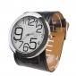 Mulheres Relógio de Moda Relógio de Pulso Quartzo Banda Preta Branco/Preto
