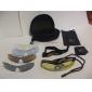 eyki-deportivas gafas de ciclismo gafas con filtro UV 5 unidades y se marchó del objetivo (4 colores disponibles)